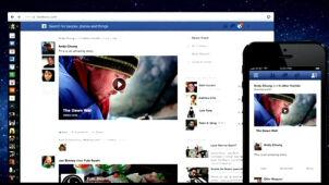 Nowy Facebook: obrazki ponad wszystko