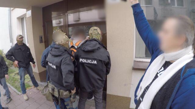 Podejrzanego zatrzymali policjanci z Archiwum X