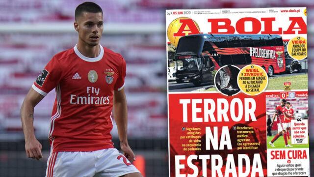 """""""Terror na drodze"""". Piłkarze zostali ranni, wracając z meczu"""