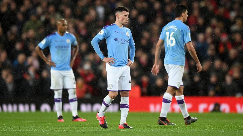 Kolejny piłkarz Manchesteru City złamał zasady dystansu