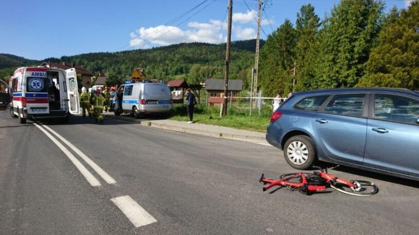 Samochód wjechał w trenujące kolarki. Była reprezentantka w ciężkim stanie w szpitalu