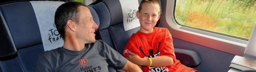 Syn Armstronga wyklucza stosowanie dopingu. Były kolarz: to się może jeszcze zmienić