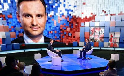 """Cała debata """"Czas decyzji"""" z Andrzejem Dudą"""