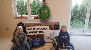 Zakończyły się przygotowania do największej i najcięższej wyprawy Marcina Gienieczko