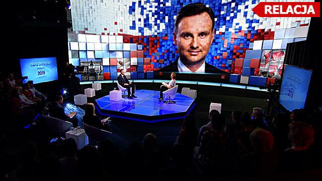 Czas Decyzji w TVN24. Debata z Andrzejem Dudą