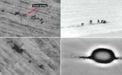 Terroryści Hamasu w Izraelu. Lotnictwo uderza