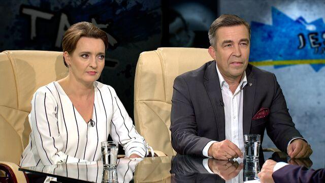 Marzena Okła-Drewnowicz i Zbigniew Gryglas w Tak Jest
