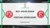 Skrót meczu Rot-Weis Essen - Fortuna Duesseldorf w 2. rundzie Pucharu Niemiec