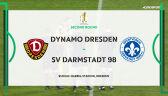 Skrót meczu Dynamo Drezno - Darmstadt w 2. rundzie Pucharu Niemiec
