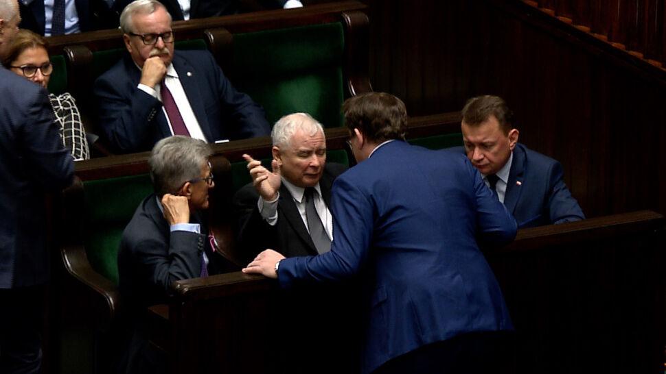 """Tarczyński wezwany przez prezesa PiS po słowach o """"idiocie"""""""
