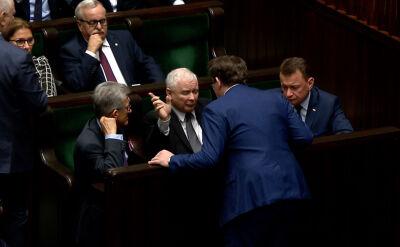 Dominik Tarczyński wezwany do prezesa Kaczyńskiego