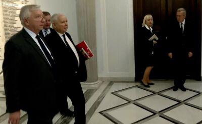 Prezes PiS pytany o bezpieczeństwo w niedzielę: Przepraszam bardzo