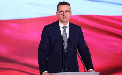 Morawiecki w Sejmie rozmawiał z szefami MON i MSWiA