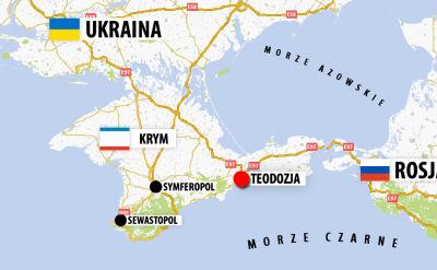 Ukraina wycofuje sięz Krymu