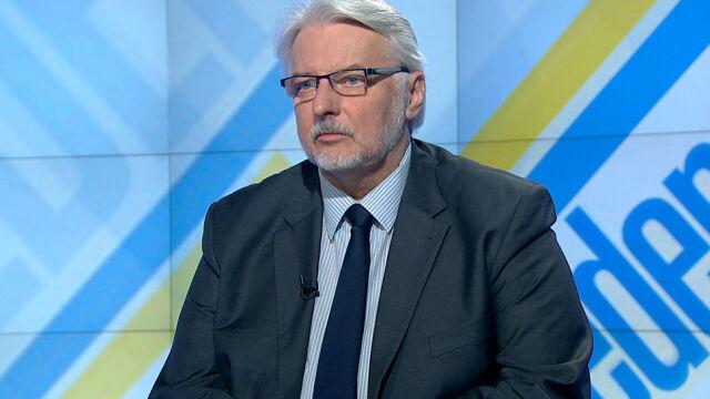Szef MSZ w TVN24: będziemy robić wszystko, żeby do głosowania dziś nie doszło