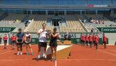 Krawczyk i Salisbury odebrali puchar za triumf w grze mieszanej we French Open