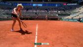 Popisowa gra Siniakovej przy siatce w 2. secie finału gry podwójnej we French Open