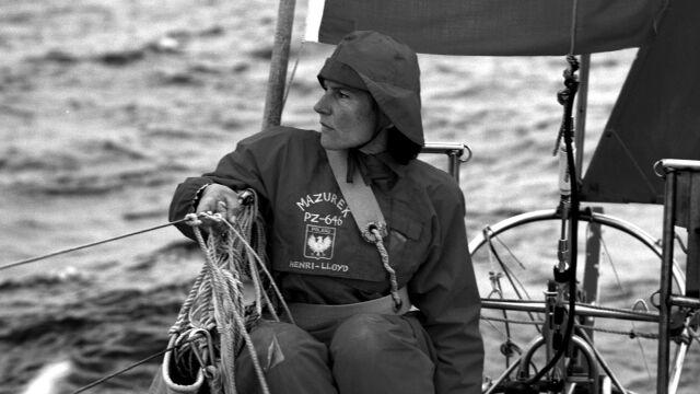 Nie żyje Krystyna Chojnowska-Liskiewicz. Jako pierwsza kobieta opłynęła kulę ziemską