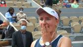 Krejcikova po wygraniu French Open 2021