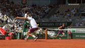 Znakomite zagranie Tsitsipasa w 2. secie półfinału French Open