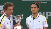 Herbert i Mahut odebrali trofeum za zwycięstwo w grze podwójnej we French Open