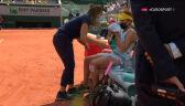Pawluczenkowa poprosiła o przerwę medyczną w 2. secie finału French Open