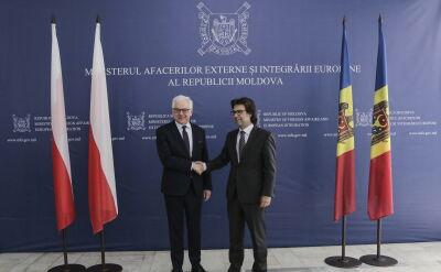 Jacek Czaputowicz z wizytą w Mołdawii