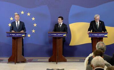 W Kijowie padły słowa poparcia ze strony Unii Europejskiej