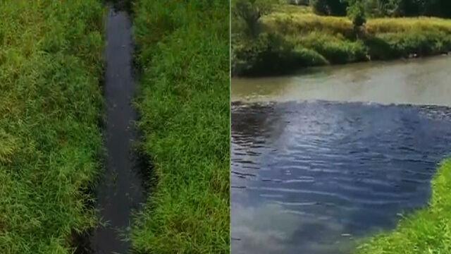 Czarna woda wlała się do Wisły.  Pracownik obsługujący pompę ma być ukarany