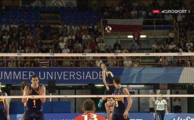 Włosi doprowadzili do tie-breaku w finale Uniwersjady