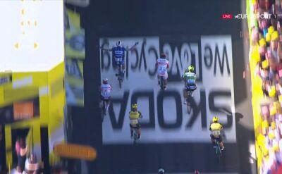 Viviani wygrał 4. etap Tour de France