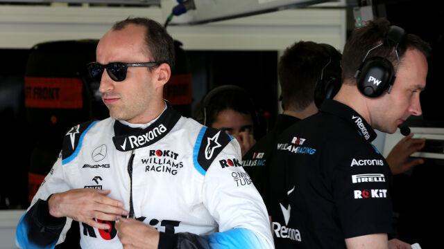 """Kubica apeluje do Williamsa. """"Trzeba zmienić pewne rzeczy, bo zwariujemy"""""""