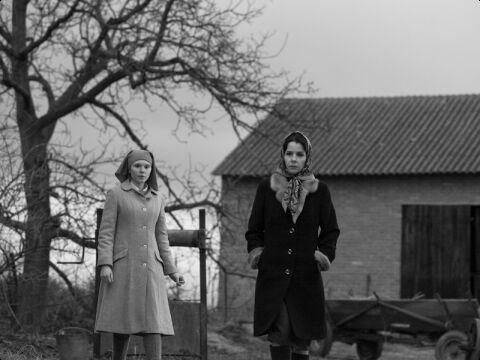 Agata Trzebuchowska i Agata Kulesza