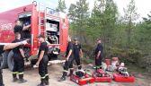 Dowódca polskich strażaków: w Szwecji byliśmy samowystarczalni