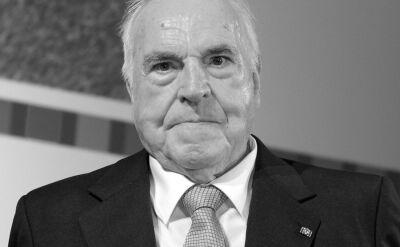 """""""Helmut Kohl był wielkim politykiem, natomiast potknął się o rzeczy małe"""""""