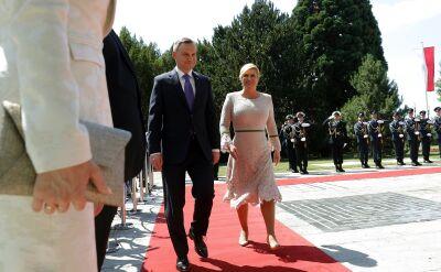 Duda: szczyt Trójmorza w Warszawie zamiast Wrocławiu