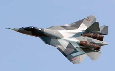 Rosyjski myśliwiec Su-57