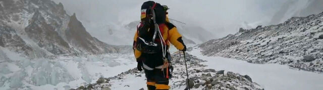 Włoski himalaista spadał na Gasherbrum VII. Na ratunek ruszył Urubko