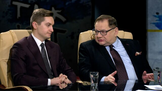 Ryszard Kalisz i Sebastian Kaleta w Tak jest