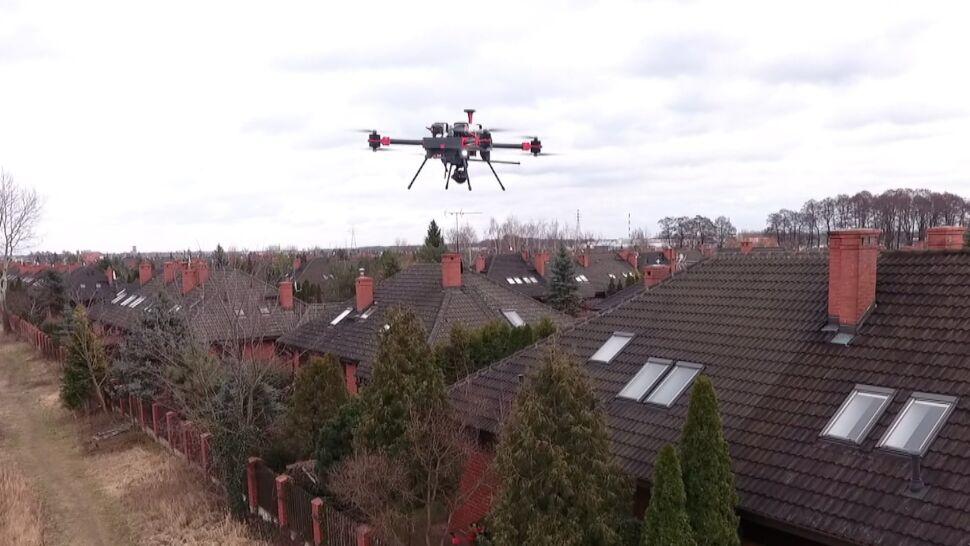 Zainteresowanie wokół testowego modelu drona mierzącego poziom smogu