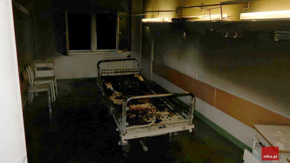 """Pacjent podpalił materac i pościel, spłonęła jedna z sal. """"To się zdarzyło po raz pierwszy"""""""