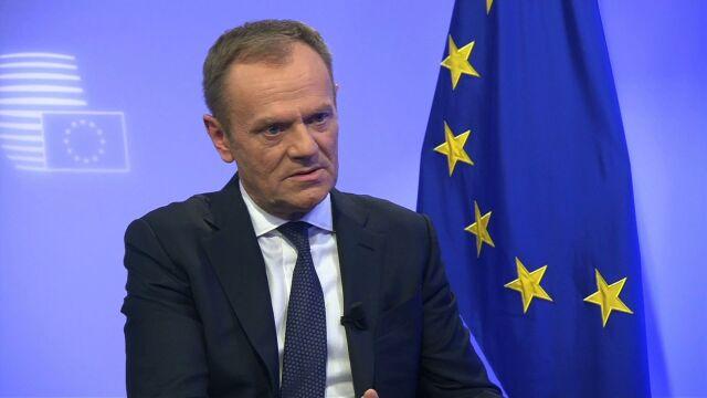 Tusk: nie wiem jaka była intencja polskiego rządu, żeby tę usługę dla Waszyngtonu zrealizować