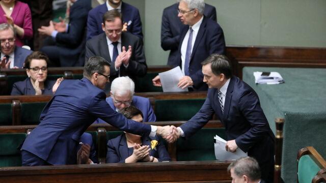Sejm odrzucił wniosek o odwołanie Ziobry