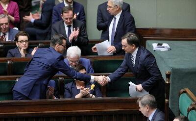 Sejm odrzucił wniosek o wotum nieufności wobec Zbigniewa Ziobro