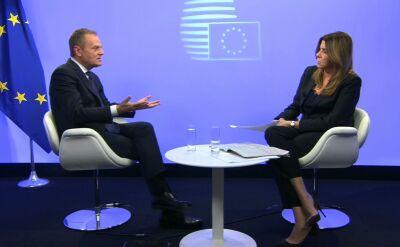 Tusk: będę wspierał wszystkich tych w Polsce, dla których takie minimum demokratyczne coś znaczy