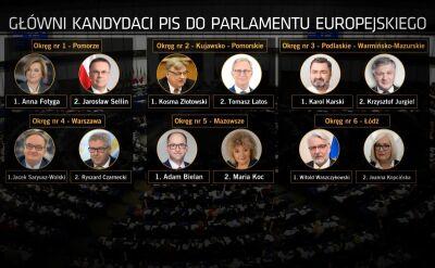 PiS ogłasza wyborcze lokomotywy