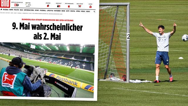 Wideokonferencja w Niemczech. Liga może wrócić na początku maja