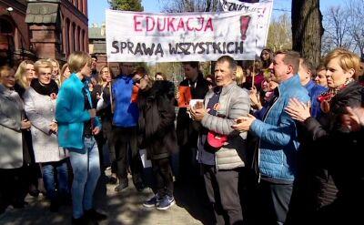 12. dzień strajku nauczycieli