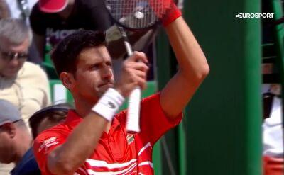 Djoković awansował do ćwierćfinału ATP World Tour Masters 1000 w Monte Carlo