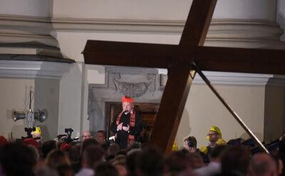 Nycz: musimy razem dźwigać krzyż dzieci, nauczycieli i osób odpowiedzialnych za oświatę